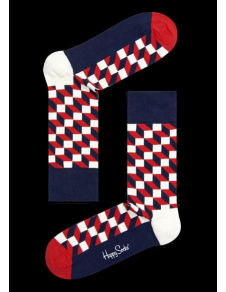 Boîte Cadeau 4 paires chaussettes BIG DOT HAPPY SOCKS HSXBDO09-6000 HAPPY SOCKS