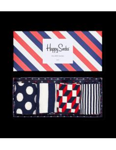 Boîte Cadeau 4 paires chaussettes BIG DOT HAPPY SOCKS