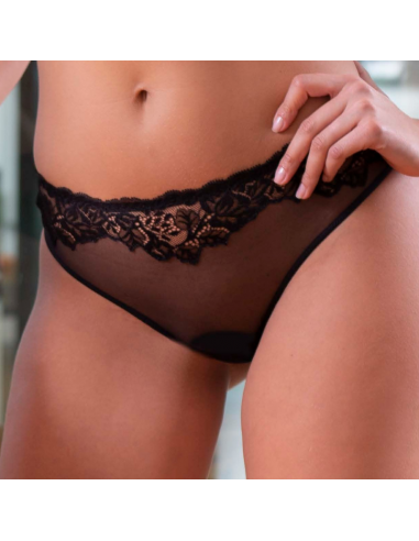 Tanga en dentelle Platinum Fashion -...