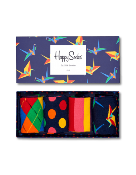 Boîte Cadeau ORIGAMI - HAPPY SOCKS