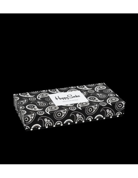 Boîte Cadeau BOXER + SOCKS Homme PAISLEY - HAPPY SOCKS