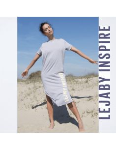 Robe T-Shirt SPORTY CHIC Lejaby Inspire Gris perle
