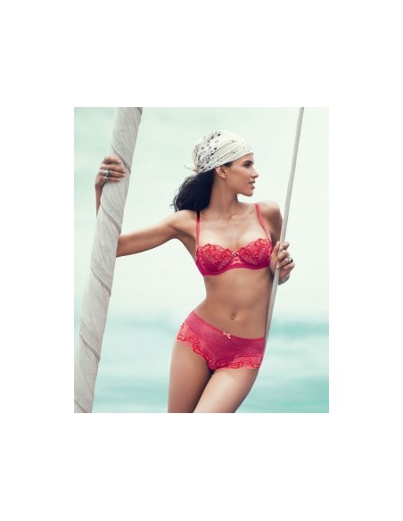 Shorty PASSION CREOLE AUBADE Rose-Soldes