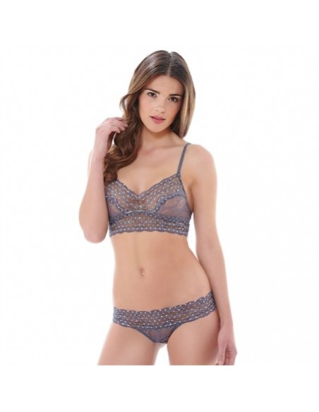 String LACE KISS B.TEMPT'd By WACOAL - Platinium