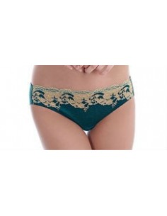 Slip Lace Affair WACOAL Forest Green