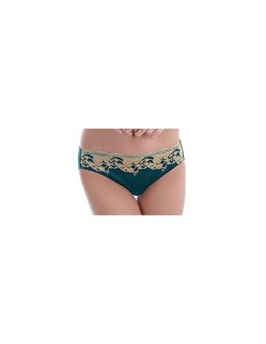 Slip Lace Affair WACOAL Forest Green-Lingerie fine et Maillots de bain pour elle