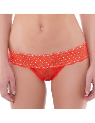 String LACE KISS B.TEMPT'd By WACOAL - Tomato WB97018TOMATO B.Tempt'd by WACOAL