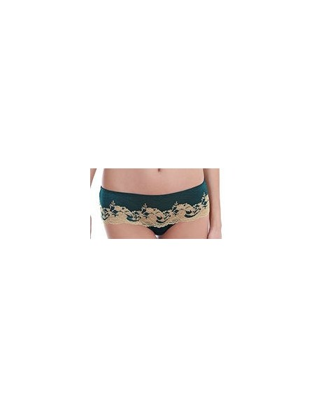 Tanga Lace Affair WACOAL Forest Green