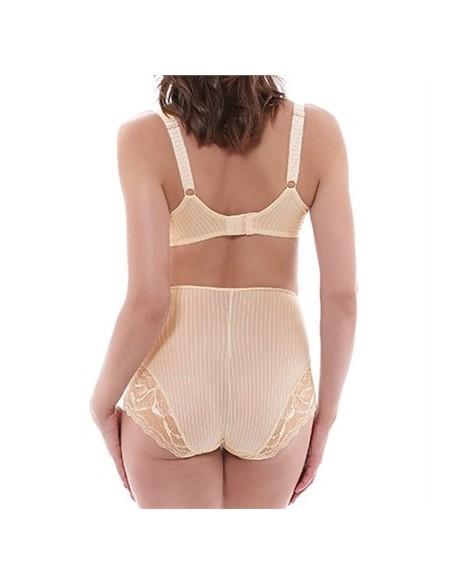 Culotte Haute ZOE Fantasie - Nude-Lingerie fine et Maillots de bain pour elle