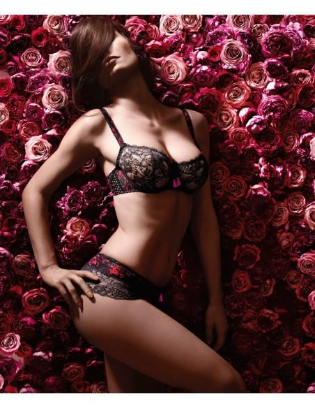 Soutien Gorge Corbeille IDYLLE PARISIENNE AUBADE Gardenia-Lingerie fine et Maillots de bain pour elle
