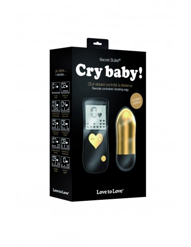 Vibromasseur à distance CRY BABY
