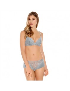 Soutien Gorge Push Up CHERISH Wacoal Silver