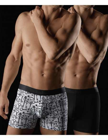 Pack 2 Boxers Secret Locks & Noir AUBADE MEN XB53M AUBADE MEN