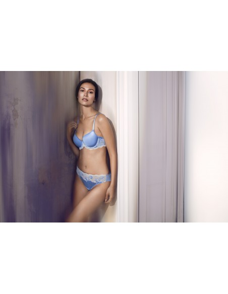 Soutien Gorge Contour LACE AFFAIR WACOAL - Bleu Provence WA853256BLEU WACOAL