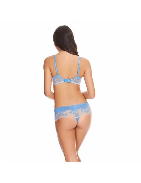 Tanga LACE AFFAIR WACOAL - Bleu Provence-Lingerie fine et Maillots de bain pour elle