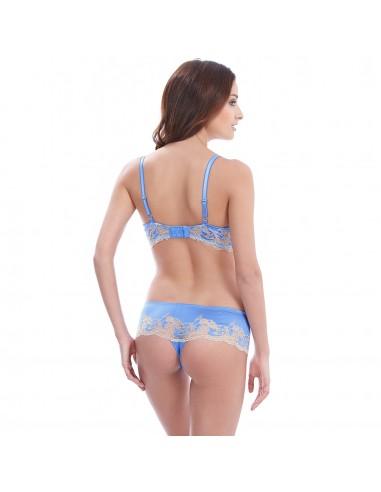 Tanga LACE AFFAIR WACOAL - Bleu Provence