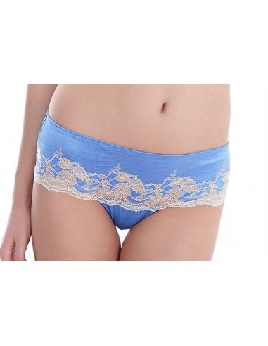 Tanga LACE AFFAIR WACOAL - Bleu Provence WA845256BLEU WACOAL