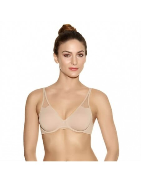 Soutien Gorge à Armatures Moulé BODY BY WACOAL - Toast