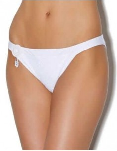 Slip Bikini Maillot de Bain INDIAN TALES - AUBADE Blanc-Maillots de Bain