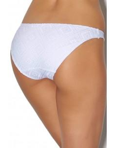 Slip Bikini Maillot de Bain INDIAN TALES - AUBADE Blanc