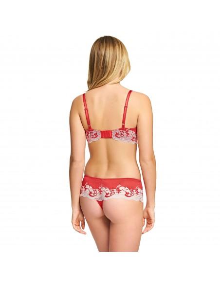 Soutien Gorge Classique LACE AFFAIR Rouge WACOAL - Promo -50%-Lingerie fine et Maillots de bain pour elle