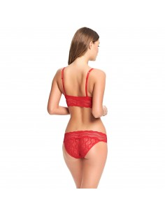 Slip Hipster LACE KISS B.TEMPT'D By WACOAL Rouge Nouveau