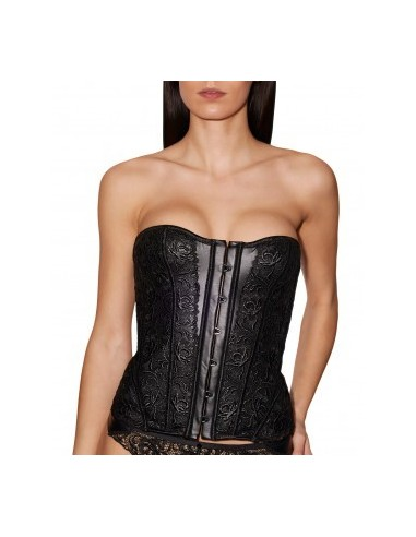 attractive designs search for genuine classic style Corset CUIR DE ROSE Edition Limitée AUBADE