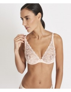 Soutien Gorge Triangle Plunge Confort SECRET DE CHARME AUBADE