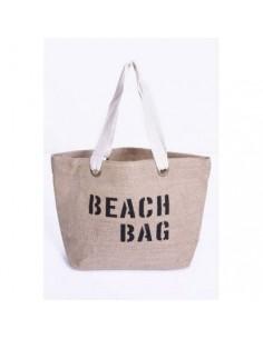 Cabas Toile de Jute BEACH BAG