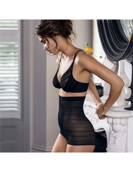 Shorty Taille Haute gainant SEXY SHAPING Wacoal Noir