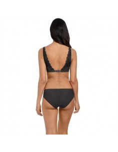 Slip sans coutures Lace Perfection Charcoal