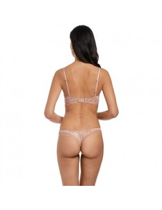 Tanga Lace Perfection Rose Nouveau Wacoal