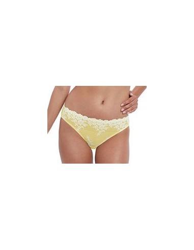 Slip classique Embrace Lace Lemon Wacoal Nouveau