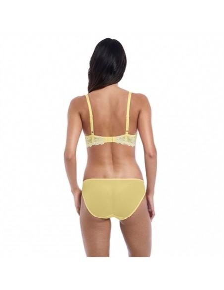 Slip classique Embrace Lace Lemon Wacoal en promo-Lingerie fine et Maillots de bain pour elle