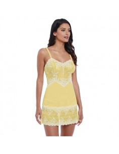 Nuisette Embrace Lace Lemon Wacoal Nouveau