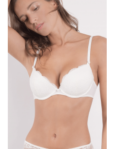 Soutien Gorge Push Up INSAISISSABLE Maison Lejaby Lys