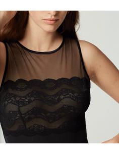 Body INSAISISSABLE Maison Lejaby Noir-Lingerie fine et Maillots de bain pour elle