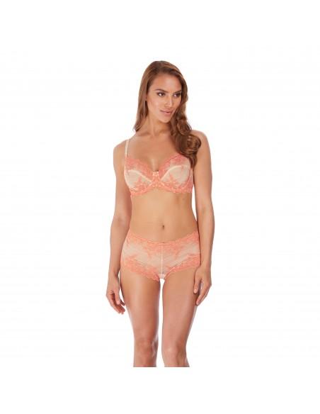 Soutien Gorge classique à armatures EMBRACE LACE - Wacoal dew coral pink-Lingerie fine et Maillots de bain pour elle