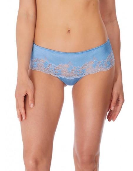 Tanga Lace Affair WACOAL Bleu cashmere-Lingerie fine et Maillots de bain pour elle