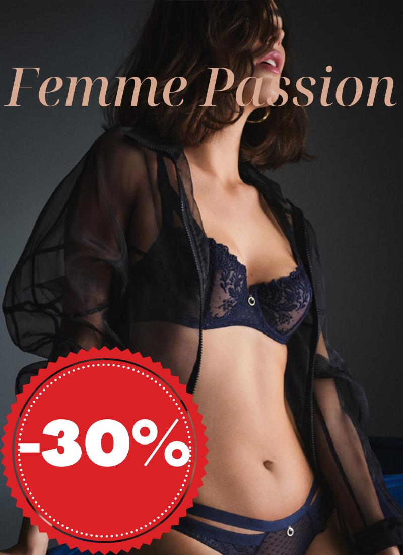 Femme passion aubade promotion
